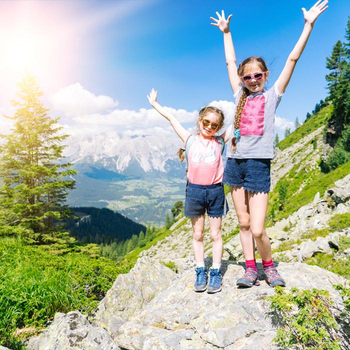 Itinerari e sentieri per bambini e famiglie
