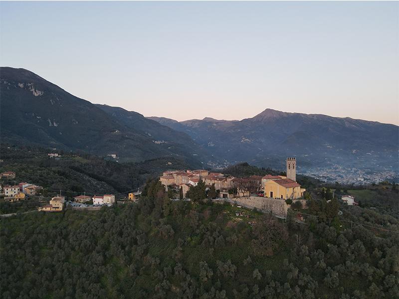 Itinerari - Capezzano - Santa Lucia, Anello di Camaiore Antiqua
