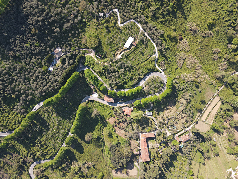 Itinerari - Nocchi - Gombitelli - Montemagno - Nocchi,  Anello di Camaiore Antiqua