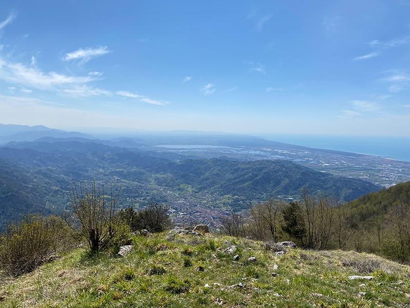 Itinerari - Il Monte Gabberi da Tre Scolli, Casoli