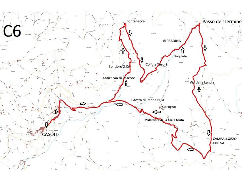 mappa anello 6