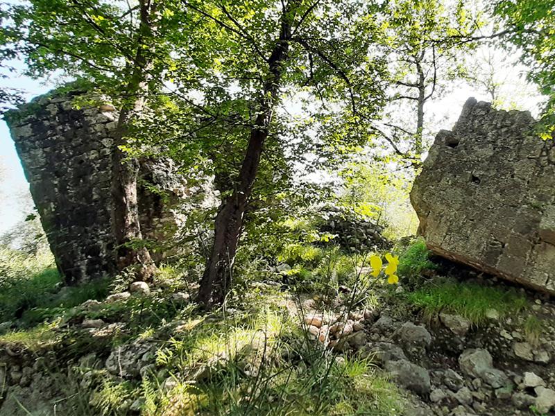 L'itinerario dei castelli dei Corvaia e Vallecchia