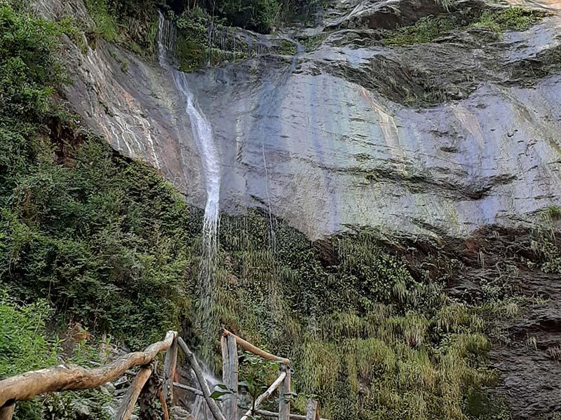 Itinerari - Cascata Acquapendente
