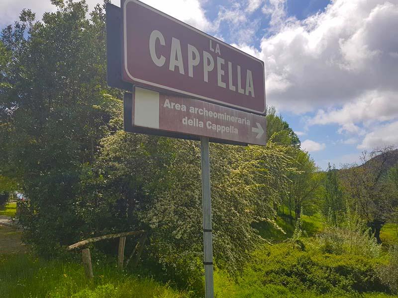 Itinerari - Da Riomagno a la Cappella, passando per Fabbiano