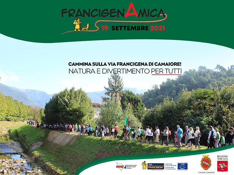 Eventi - 6° edizione di FrancigenAmica - 3 Ottobre 2021