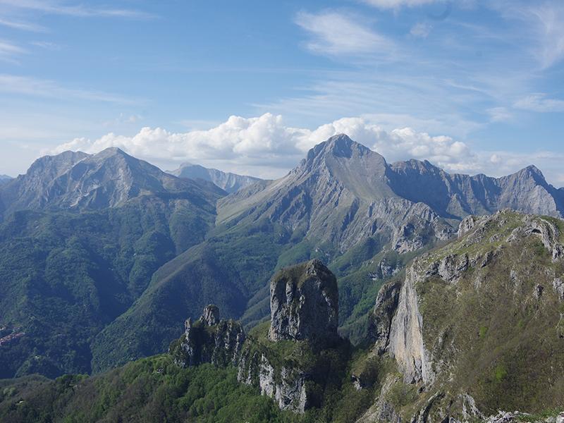 Itinerari - Dal Rifugio Matanna alla Foce del Pallone fino alla vetta del Monte Matanna