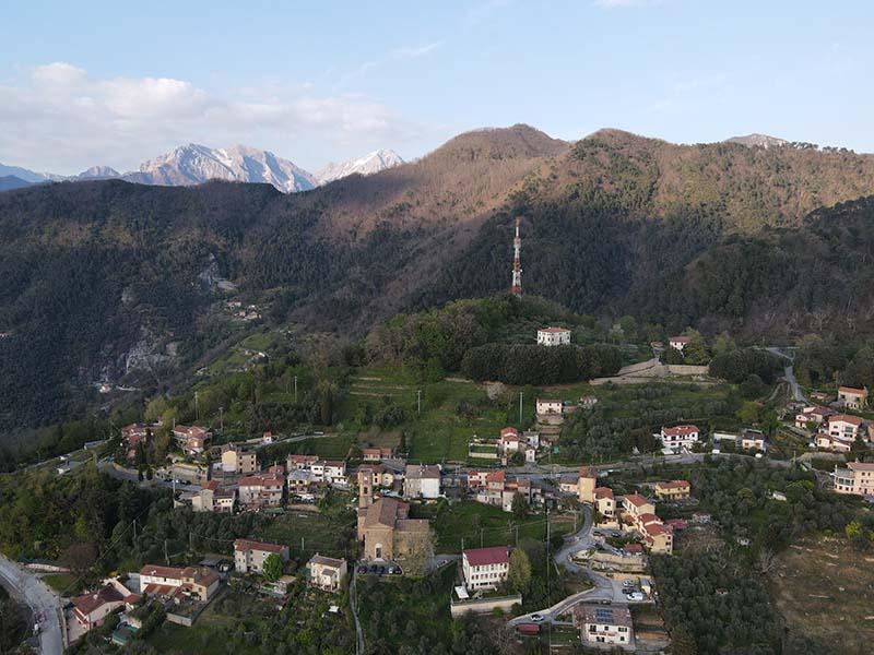 Sentieri - Sant' Anna - Capriglia, Sentieri Alta Versilia