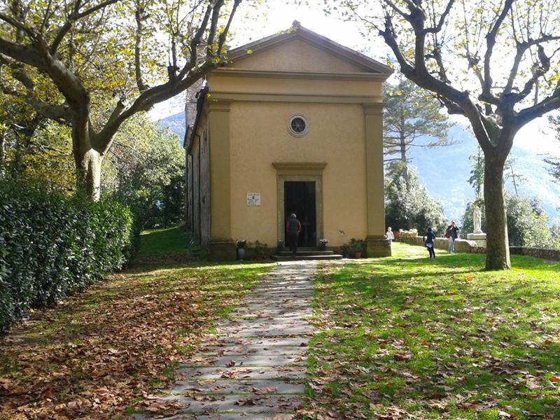 Sentieri - Anello 4 sentieri di Pace: cimitero - Le Case - Moco - Bambini - Vaccareccia - Focetta - Ossario - Chiesa