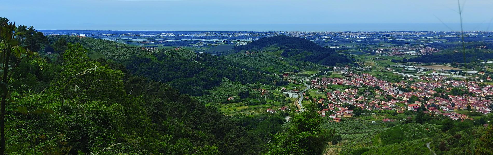 La Panoramica di Massarosa con partenza da Stiava