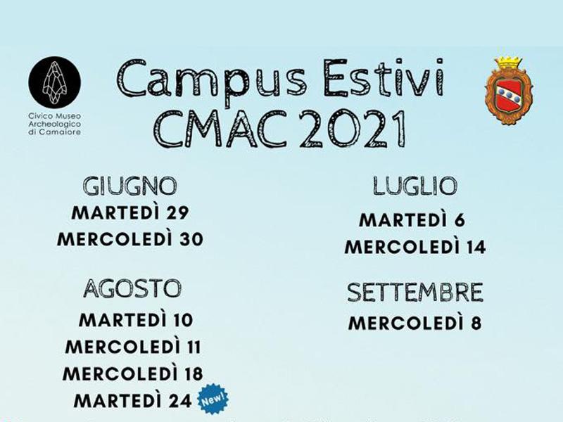Eventi - Campus Estivi CMAC 2021