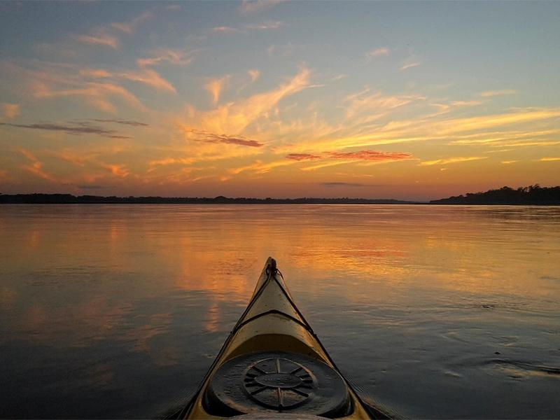 Eventi - In canoa al tramonto sul Lago di Massaciuccoli