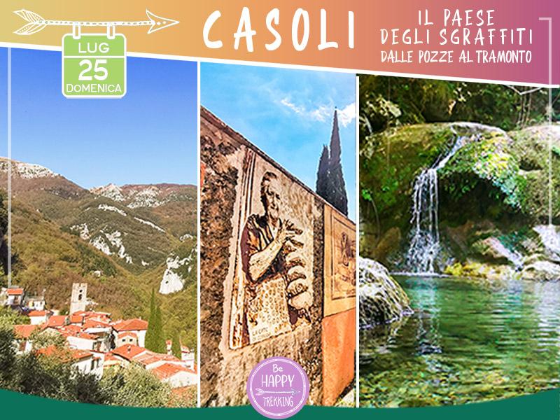 Eventi - Casoli: il Paese degli Sgraffiti, Pozze & Tramonto