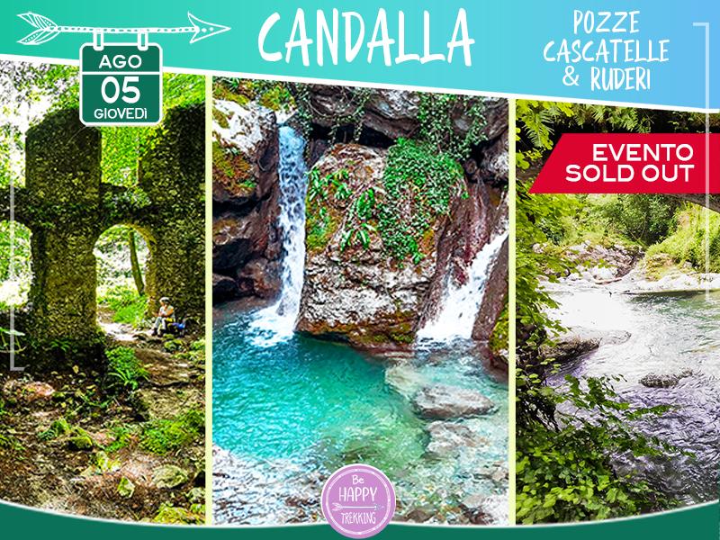 Eventi - Candalla: Pozze, Cascatelle & Ruderi