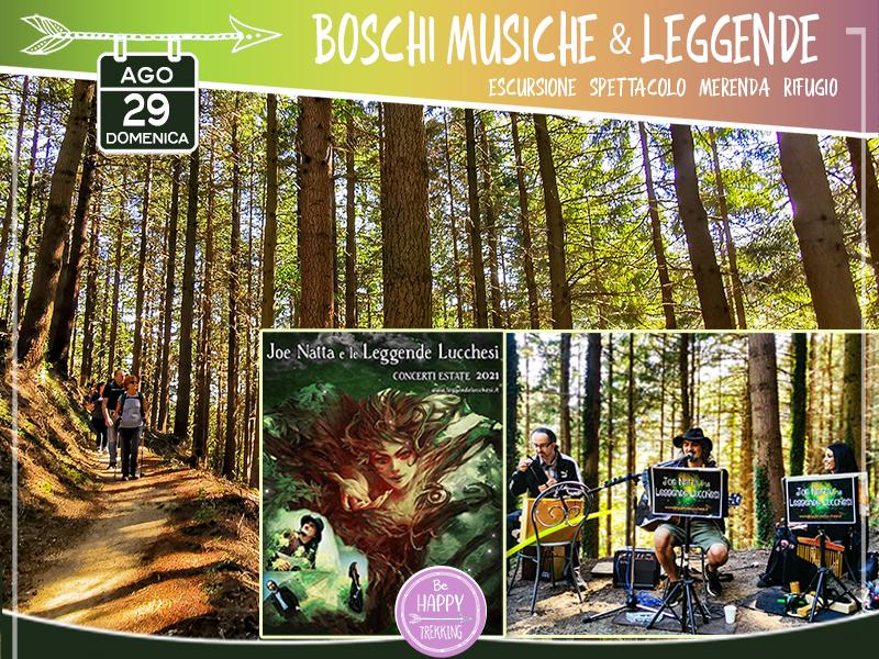 Eventi - Boschi, Musiche & Leggende - Lungo i Sentieri del Maestro
