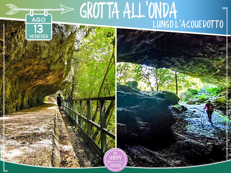 Eventi - Grotta all'Onda Lungo l'Acquedotto