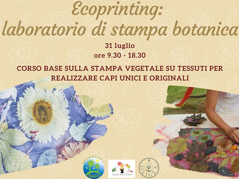 Eventi - Ecoprinting: laboratorio di stampa botanica nel Giardino di Manipura