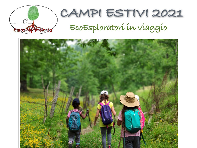 Eventi - Campi estivi 2021