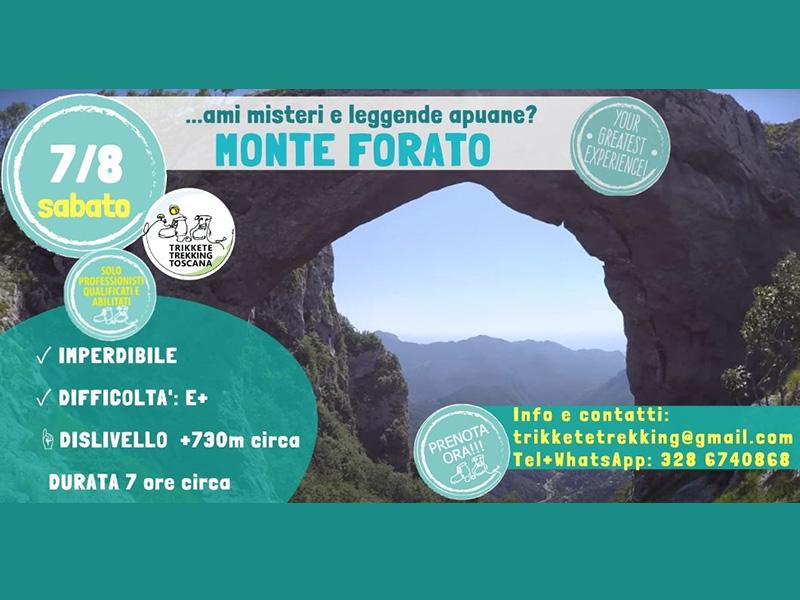Eventi - Le Apuane del Sud: Monte Forato