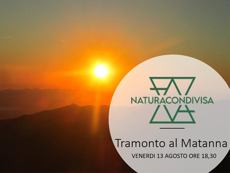 Eventi - TRAMONTO AL MATANNA