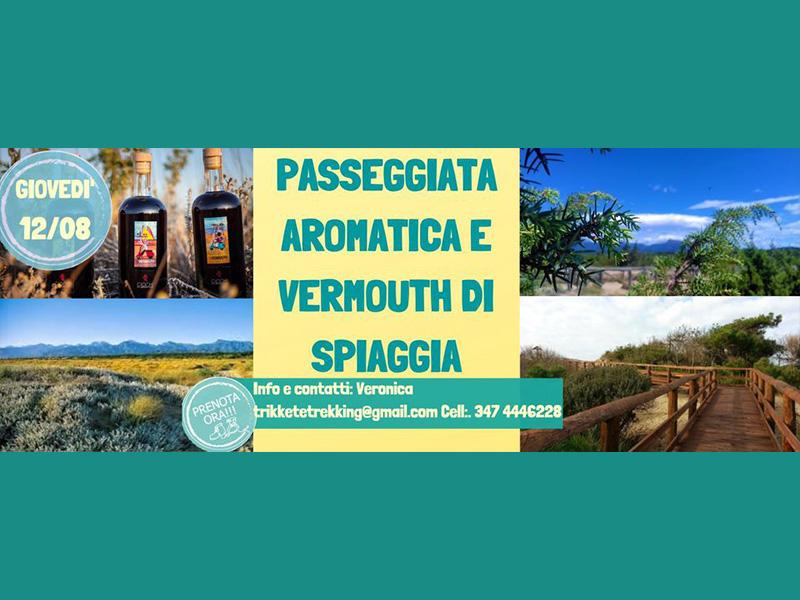 Eventi - Passeggiata aromatica e Vermouth di spiaggia