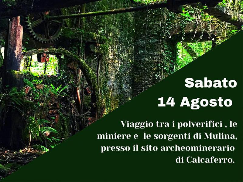 Eventi - Le Mulinette e il parco archeominerario di Calcaferro