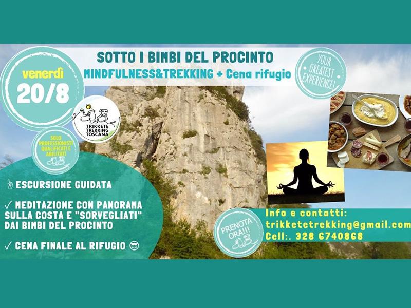 """Eventi - Sotto """"I Bimbi"""": Mindfulness&Trekking al Tramonto + Cena al Rifugio!"""
