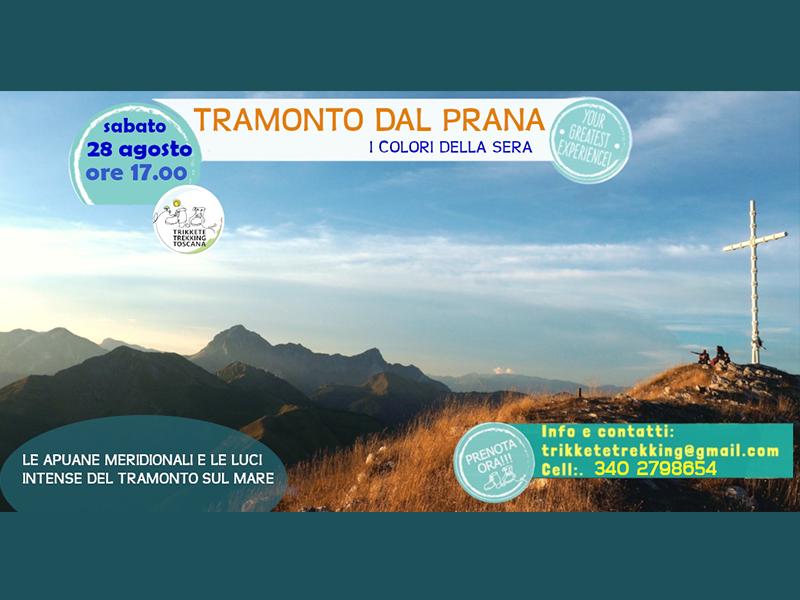 Eventi - Prana al Tramonto: cena in vetta+ rientro in notturna