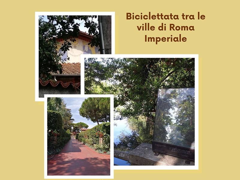 Eventi - Biciclettata tra le ville di Roma Imperiale