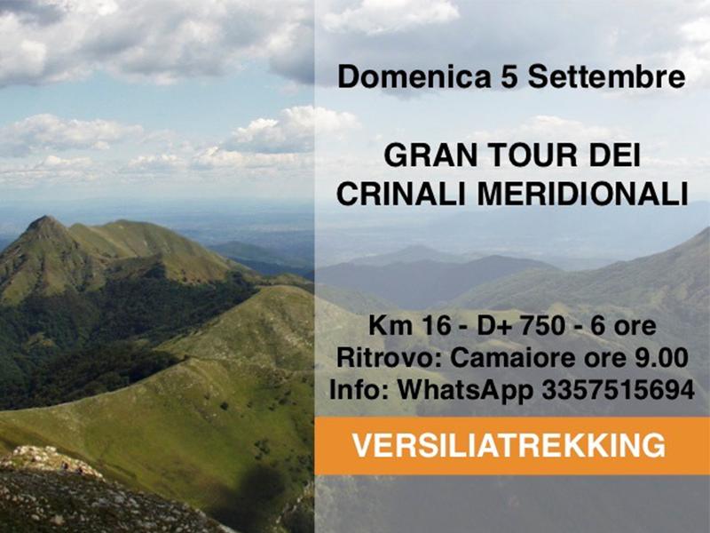 Eventi - Gran Tour dei Crinali meridionali delle Apuane