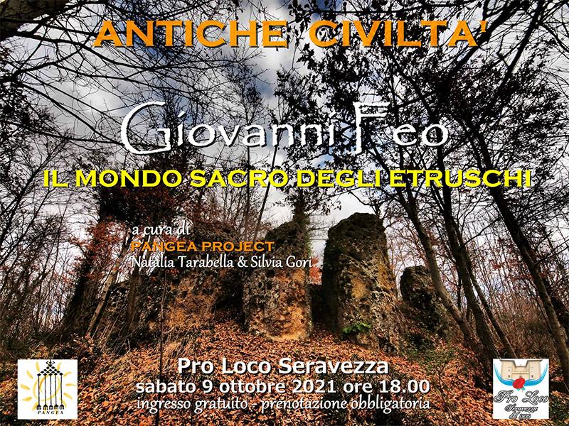 Eventi - Giovanni Feo - Il mondo sacro degli Etruschi