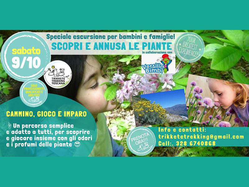 Eventi - Scopri&Annusa: Escursione per bambini e famiglie