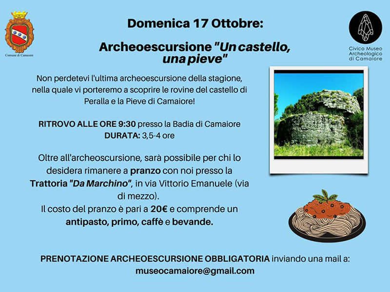 """Eventi - Archeoescursione """"Un castello, una pieve"""""""