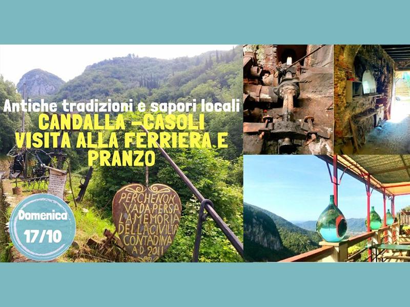 Eventi - Candalla - Casoli: visita alla Ferriera e pranzo