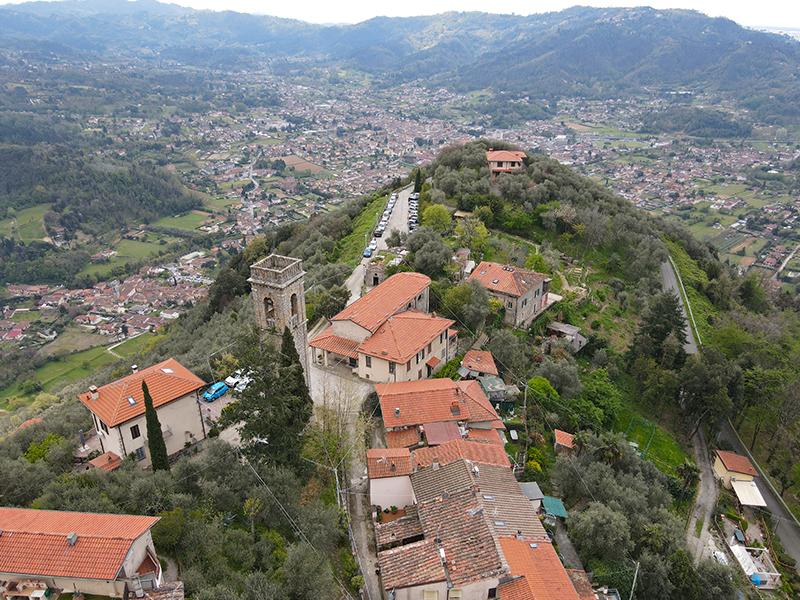 Itinerari - Vado - Greppolungo - Montebello, Anello di Camaiore Antiqua