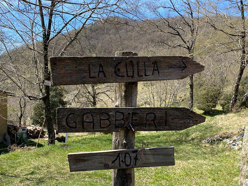 Sentiero CAI 107: dalla Culla al Monte Gabberi