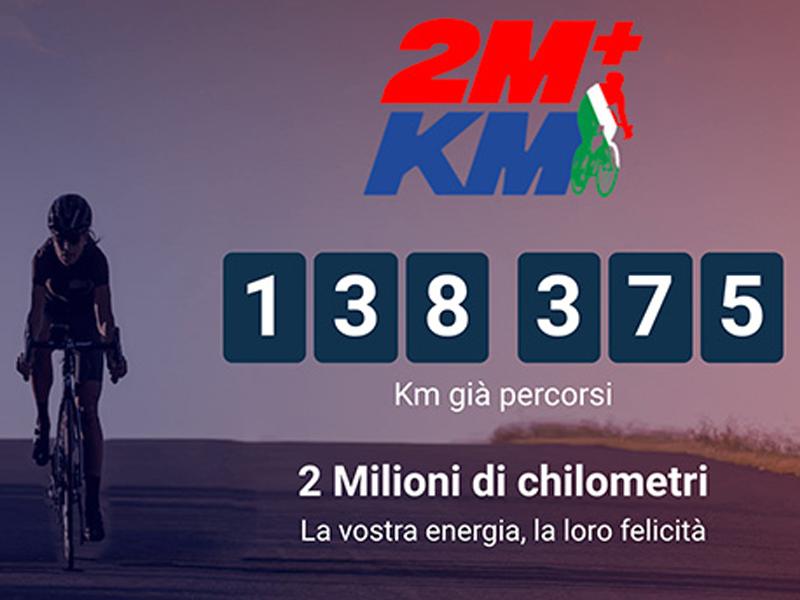 Anche Forte dei Marmi a sostegno della 2+MILIONI DI KM