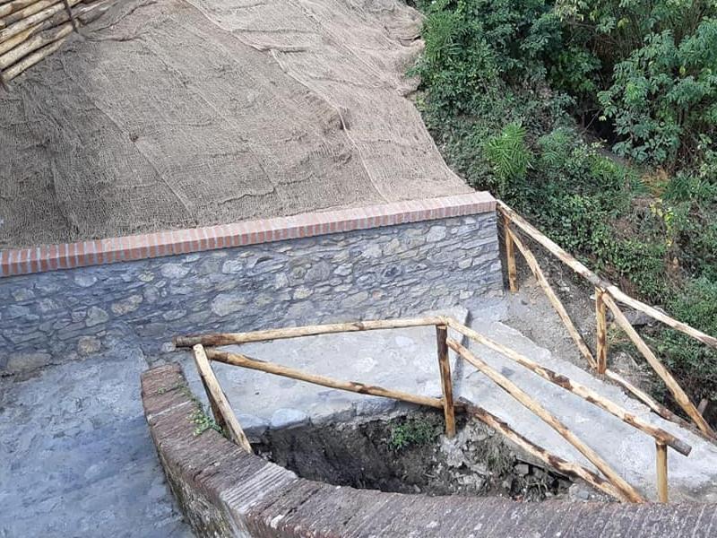 Lavori di recupero sul tratto di Francigena a Montemagno