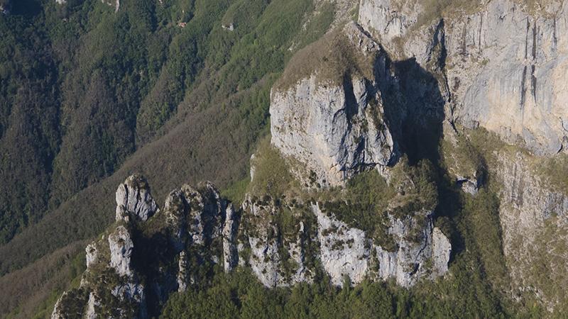 Ripristinata la Ferrata del Procinto sulle Alpi Apuane
